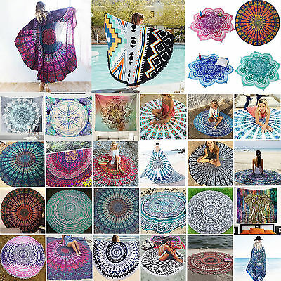 Bohemia Mandala Wall Hanging Decor Tapestry Hippie Throw Yoga Mat Towel Blanket