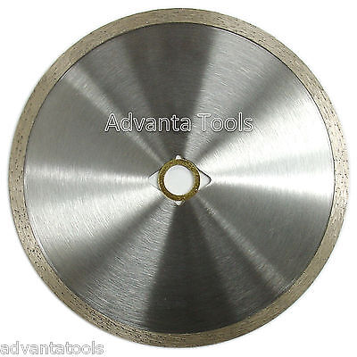 7 Continuous Rim Diamond Saw Blade For Stone Tile Masonry - Dm-78-58 Arbor