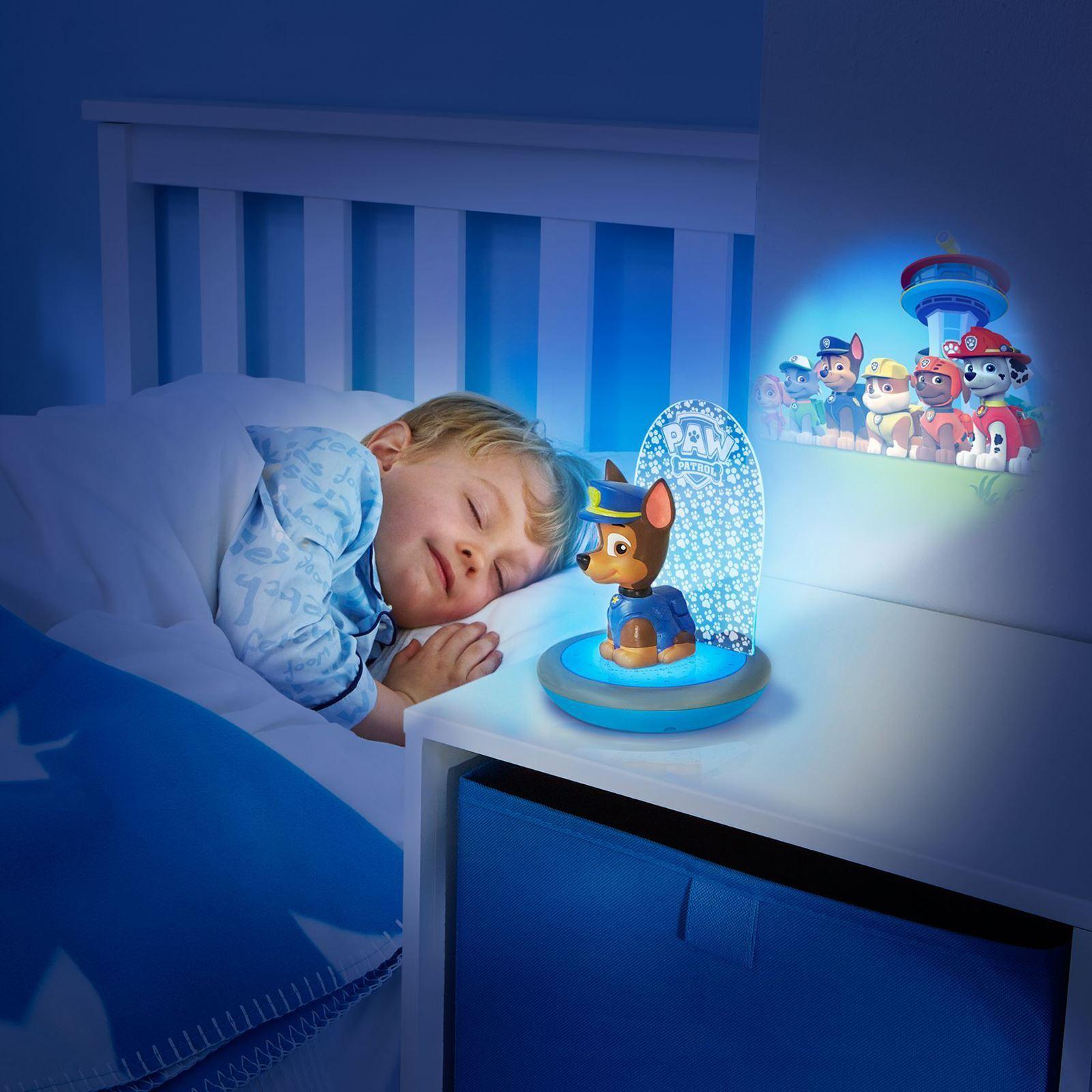 Paw Patrol Chase 3 In 1 Magic Go Glow Night Light Kids