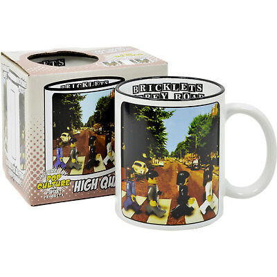 The Beatles Abbey Road Mug. Lego Parody Coffee Tea Cup Funny Gift Idea for fan Beatles Fan Mug