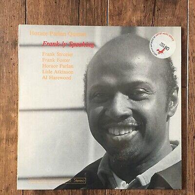 Horace Parlan Quintet – Frank-ly Speaking LP. Danish 1st 1977  SteepleChase 