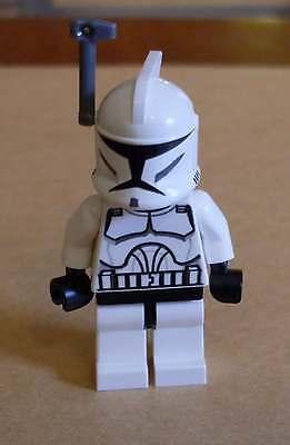 Lego Star Wars Clone Trooper Clone Wars Figur mit Antenne Helm weiss Klone Neu (Star Wars Clone Trooper Helm)