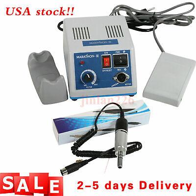 Dental Lab Marathon 35k Rpm Electric Micromotor N3e-type 35000 Motor Polish Or