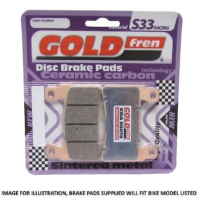 Victory Cross Country Tour 2016 Goldfren S33 Rear Brake Pads