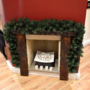 christmas fireplace decorations ebay rh ebay co uk