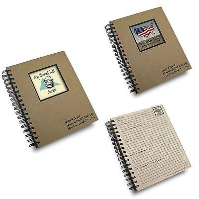 Write It Down Tagebücher Eimer Liste & Visit The 50 Stateroom