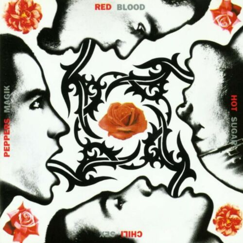 RED HOT CHILI PEPPERS Blood Sugar Sex Magik BANNER HUGE 4X4 Ft Fabric Poster art