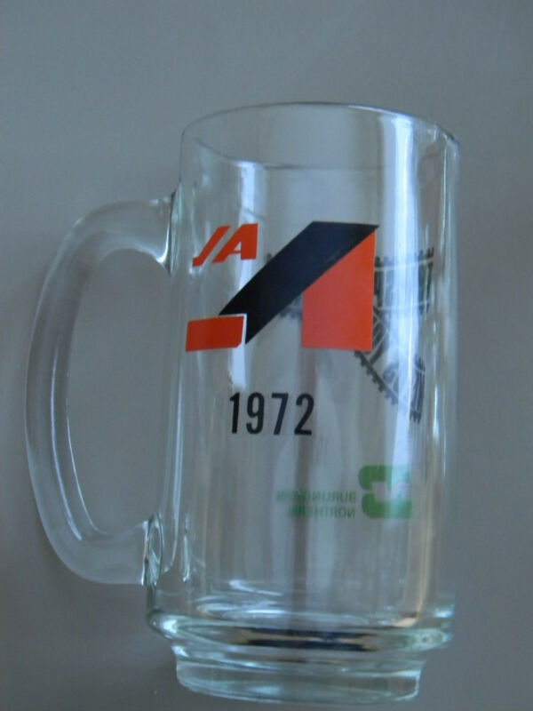 "Burlington Northern ""Transportation Needs You"" Mug 1972"