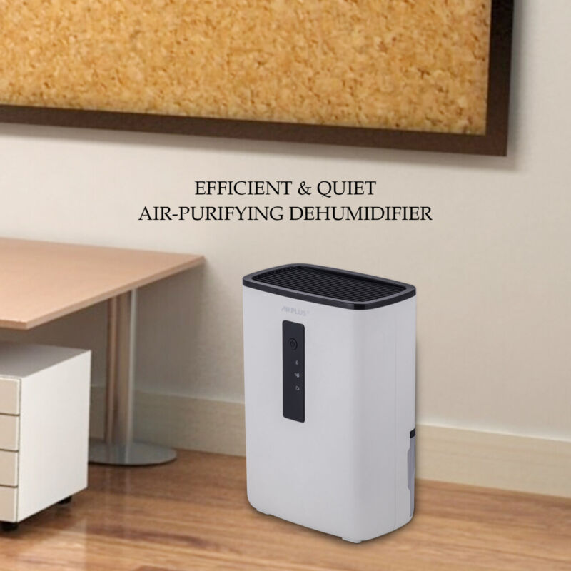 Electronic Home Dehumidifier with UV Light for Home, Basemen