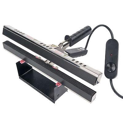12″ Portable Hand Crimper Sealer Constant Heat For Poly or Mylar / Foil Bags Business & Industrial