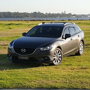 2014 Mazda 6 Wagon dark grey low kms
