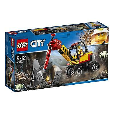 LEGO CITY 60185 - Spaccaroccia da miniera