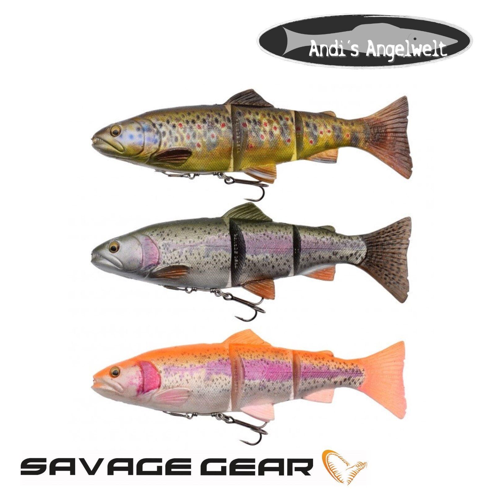 Savage Gear 4D Line Thru Trout - alle Farben und Größen - NEUHEIT 2018 !