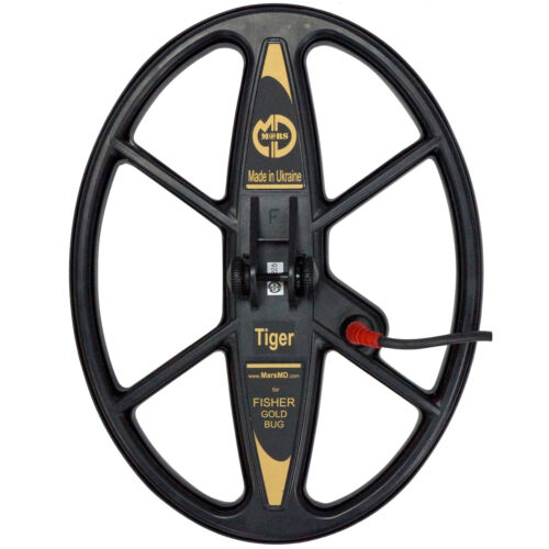 """Mars Tiger 13""""x10"""" DD WaterproofSearch Coil for Fisher Gold Bug Metal Detector"""