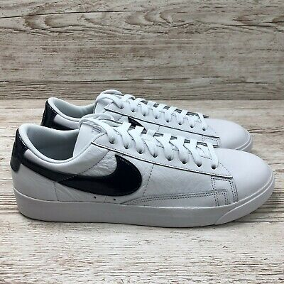 W NIKE BLAZER LOW LEATHER WHITE SIZE UK 8 US WMNS 10.5 EUR 42.5 AA3961 107