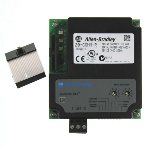 Allen Bradley 20-COMM-R /A PowerFlex Remote I/O Adapter