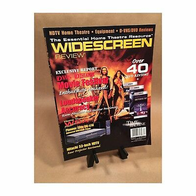 Widescreen Magazine August 2002 The Time Machine Movie Dtheater Dvhs for sale  Canonsburg