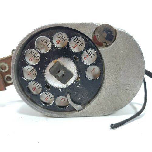 Vintage Bell System/Western Electric Lineman's Test/Butt Set Rotary Dial 52A