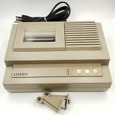 Vintage Citizen 2-color Dot Matrix Pos Receipt Printer Idp560-cd Working