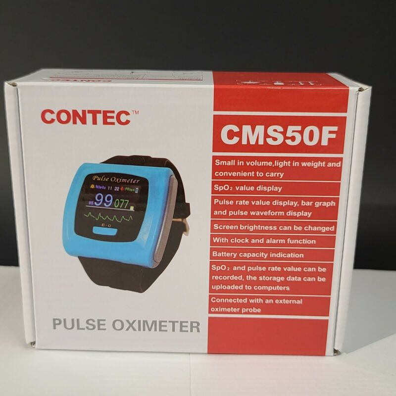 Pulse Opximeter CONTEC CMS50F Wrist watch pulse oximeter heart rate monitor