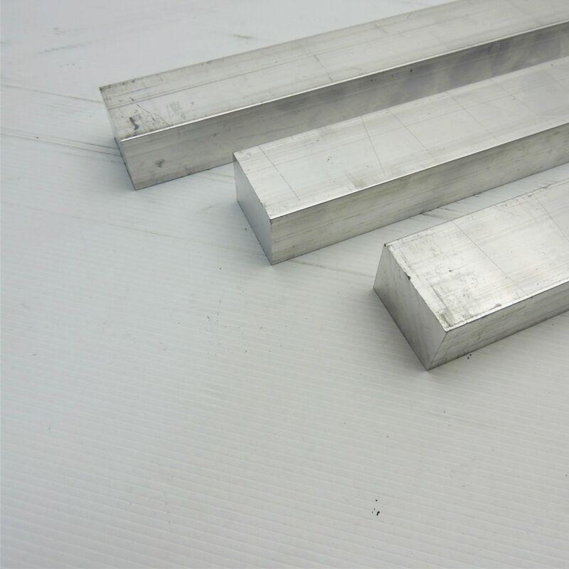 "1"" x 1.5"" Aluminum 6061 FLAT BAR 17"" Long new mill stock QTY 3 sku M702"