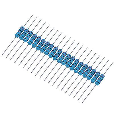 Us Stock 200pcs 100k Ohm 100kohm 14w Watt Metal Film Resistor 0.25w 1