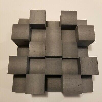 "DIY 3 lb 15"" x 15"" Ceiling Acoustic Skyline Sound Diffuser Studio Acoustic Panel"