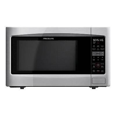 Frigidaire 2.2 Cu. Ft. 1200 Watt Countertop Microwave Oven - Stainless Steel ...