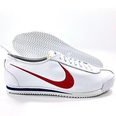 Nike Cortez '72 S.D. Shoe Dog Pack Swoosh White Red Blue CJ2586-100 Men's