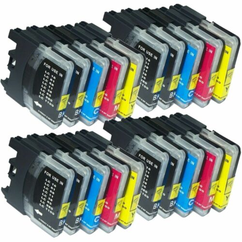 20 Ink Cartridge For Brother LC61 LC-61  MFC-J265w MFC-J270w