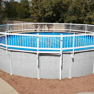 Protect-A-Pool Fence - Kit A 8 Section Base Kit - Tan Pool Fence Base