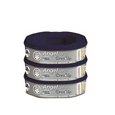 Angelcare Nachfüllkassetten für Windeleimer Dress-Up 3 Stück NEU