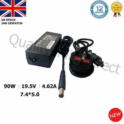 19.5V 4.62A 90W 7.4*5.0mm DELL PA10 LAPTOP ADAPTER CHARGER LATITUDE D620 D630