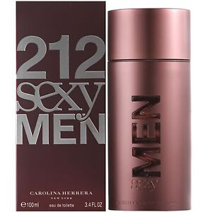 Carolina Herrera 212 Sexy Men EDT Spray 100ml for him