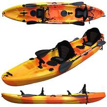 3 colors available, 3.7M double fishing kayak on sale Riverwood Canterbury Area Preview