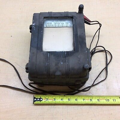 General Electric Vintage Recording Voltmeter Type Cf-1