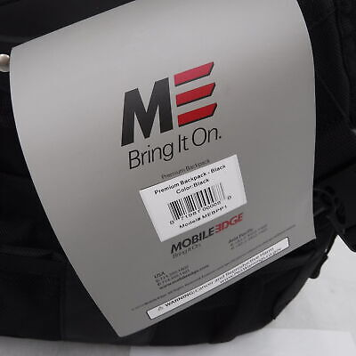 Mobile Edge Backpack Charcoal And Black for the Premium 17.3 inch MEBPP1 4