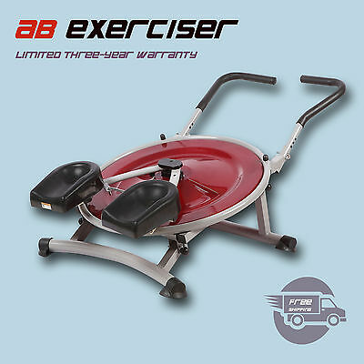 AB Circle Pro Abs Exercise Machine Workout Equipment Abdominal Fitness Home Gym
