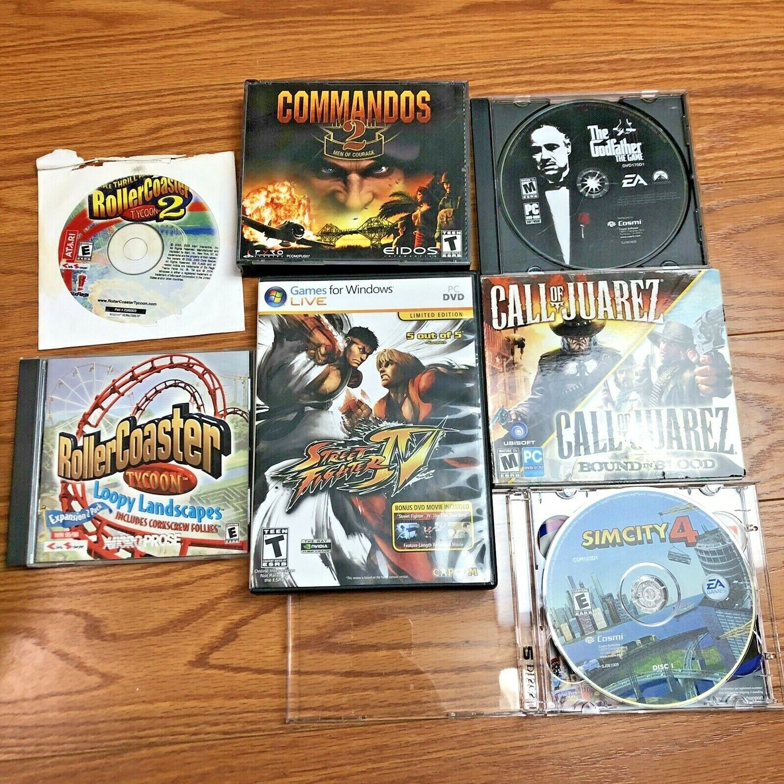 Computer Games - Computer Video Games LOT of 8 for Windows PC All Working FREE SHIPPING