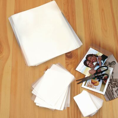 Assorted Thermal Laminating Pouches - Photo Card And Letter Size - Set Of 100