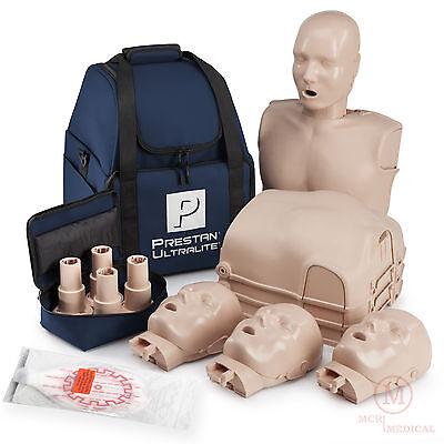 4-pack Prestan Ultralite Cpr Manikins Pp-ulm-400-ms Ultra Light Mannequins