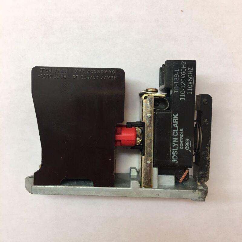 JOSLYN CLARK TB-139-1 Contactor Starter