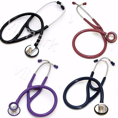 Professional Cardiology Stethoscope Dual Head With Diaphragm Pickup Your Color