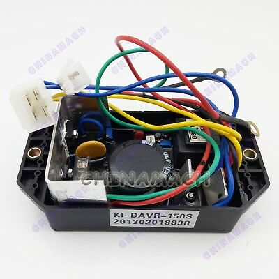 Ki-davr-150s Voltage Regulator For Kipor Kama 12-15 Kw Single Phase Generator