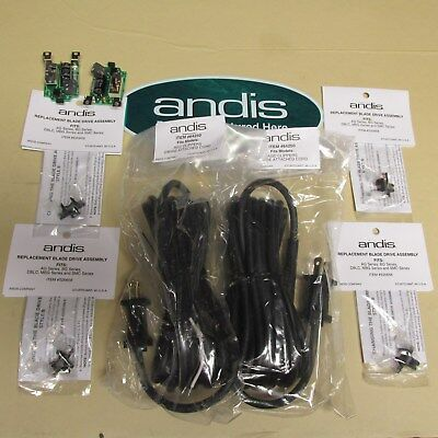 New >> Andis Clipper Parts >>2  Cord >> 2--Switchs  4 Blade Drives