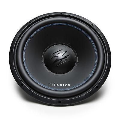Hifonics TW15D4 Titan 15 Inch 1200 Watt Power DVC Dual 4 Ohm Car Audio Subwoofer