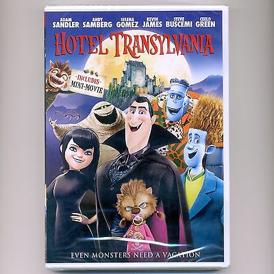 Hotel Transylvania 2012 PG animated comedy movie, new DVD Halloween Dracula - Animated Halloween Movies