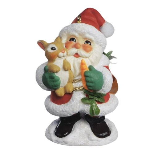 Hallmark Keepsake Christmas Tree Ornament 2006 Bunny Hug Limited Quantity NEW