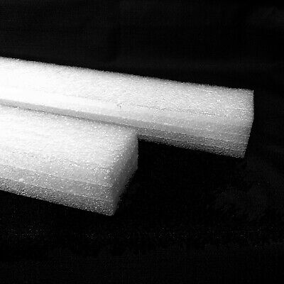 2x Foam Plank 23.25 X 2.75 X 2 White Polyethylene Packing Shipping Firm 998-054