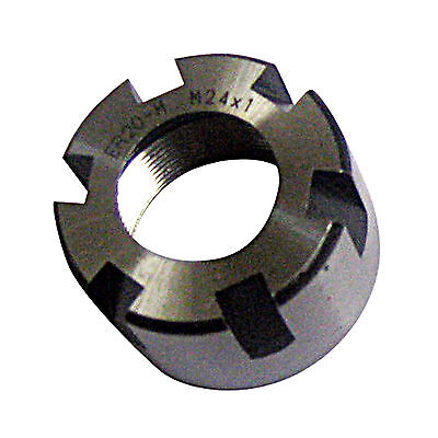 New Er16 M Type Collet Clamping Nut For Lathe Cnc Milling Chuck Holder